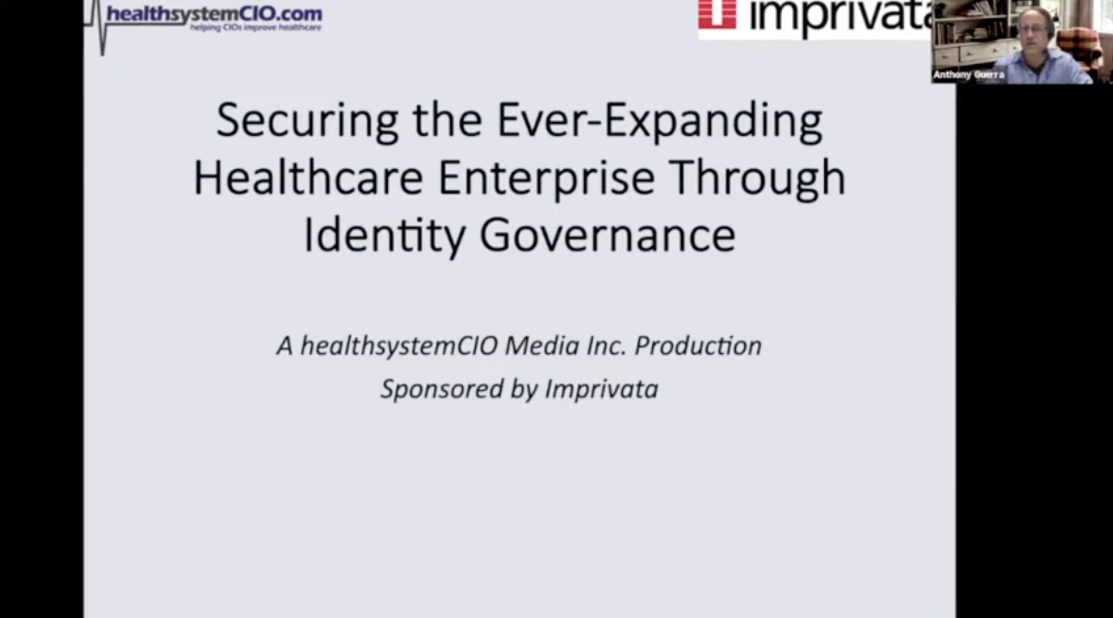Securing the Ever-Expanding Healthcare Enterprise Through Identity Governance