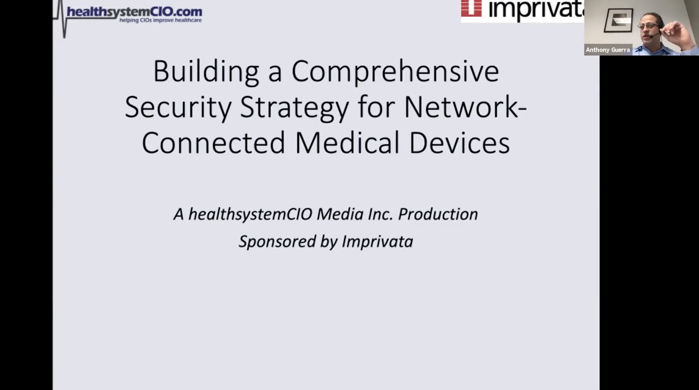 Building a comprehensive security strategy for network-connected medical devices