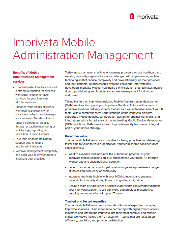imprivata-mobile-administration-management