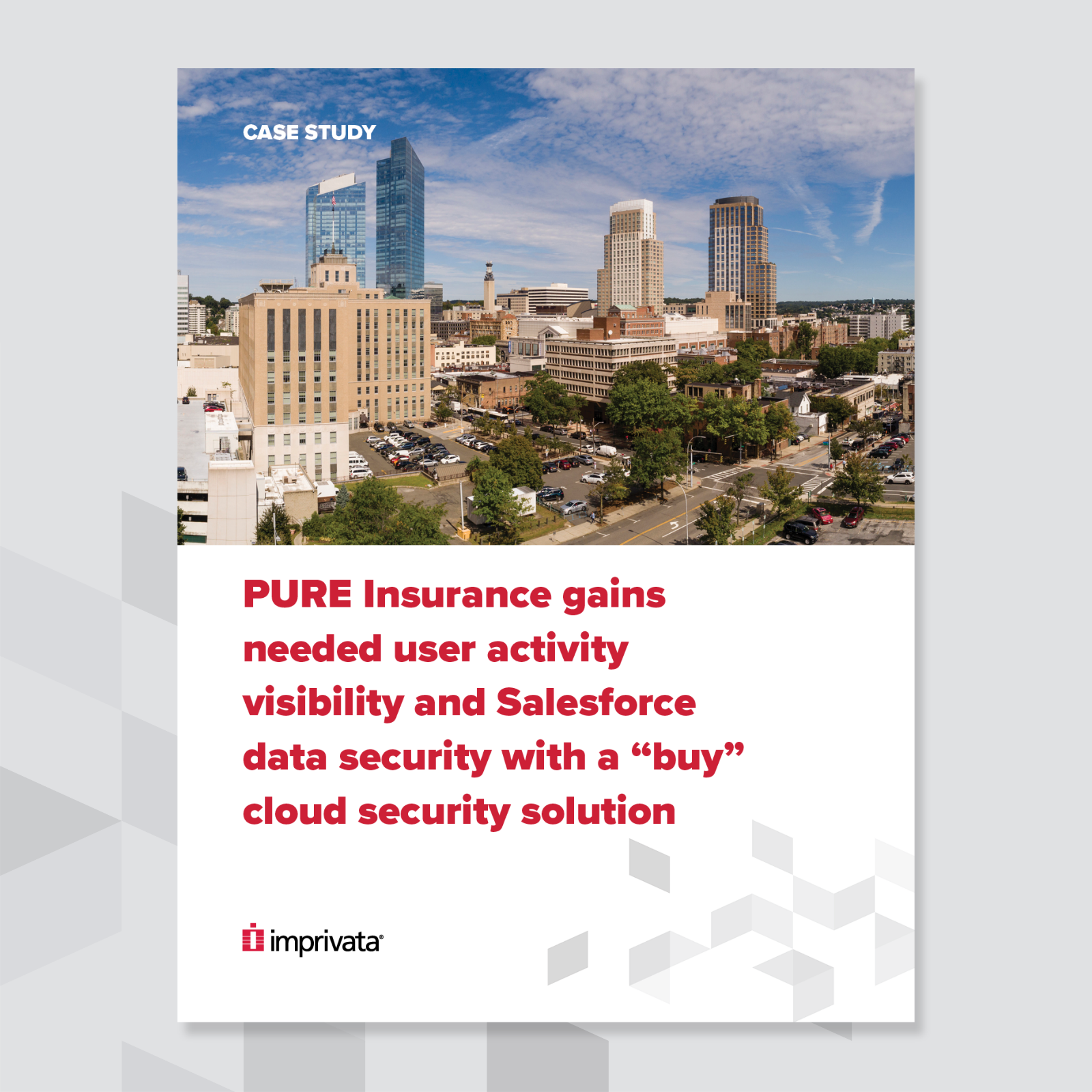 Pure insurance case study cover