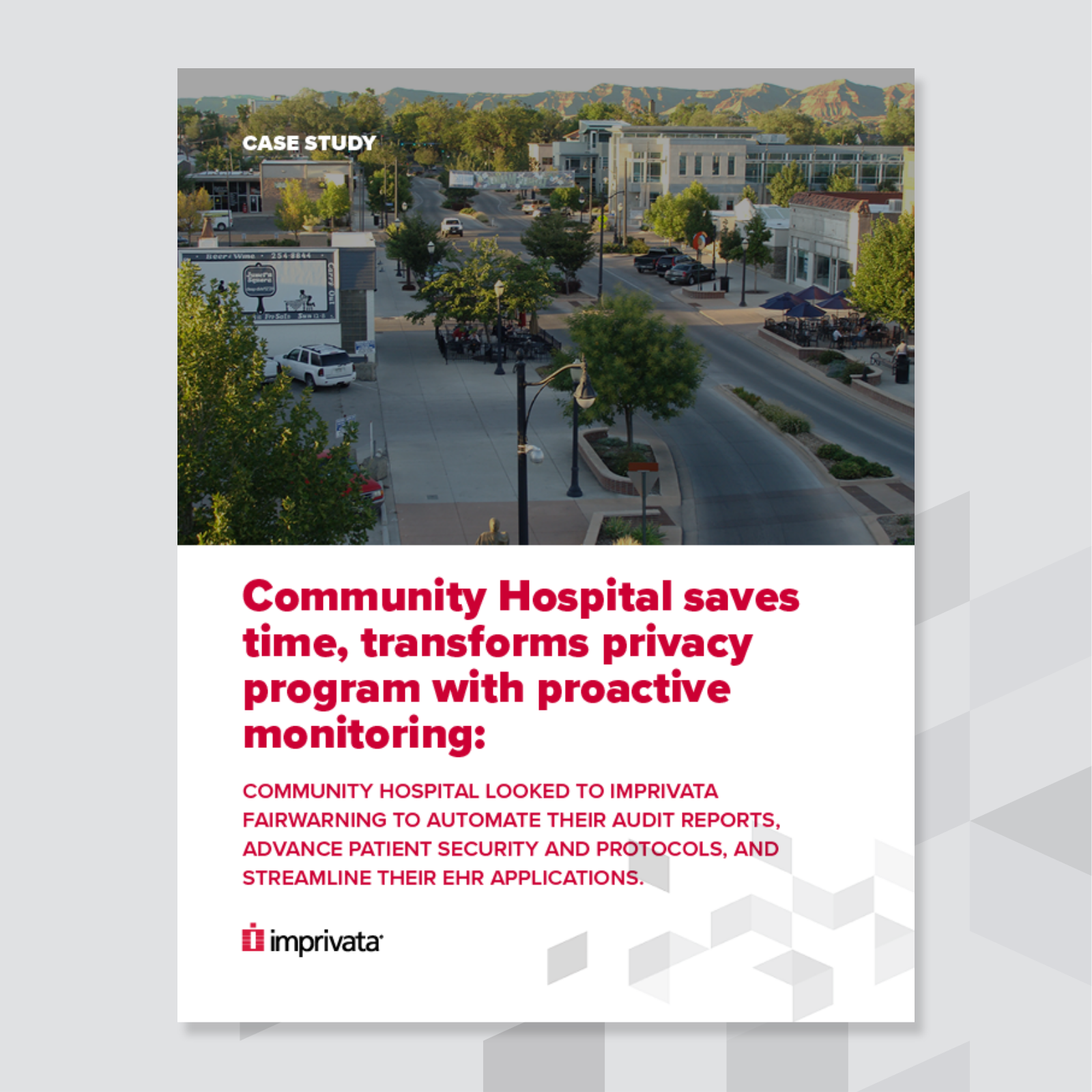 Community Hospital case study cover
