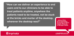 A Virtualized Healthcare Environment: The keys to improving