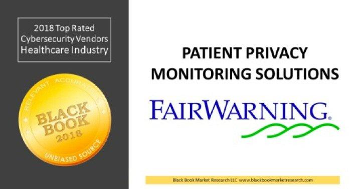 Healthcare Providers Reveal No. 1 Patient Privacy Monitoring Solution