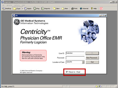 Centricity screenshot