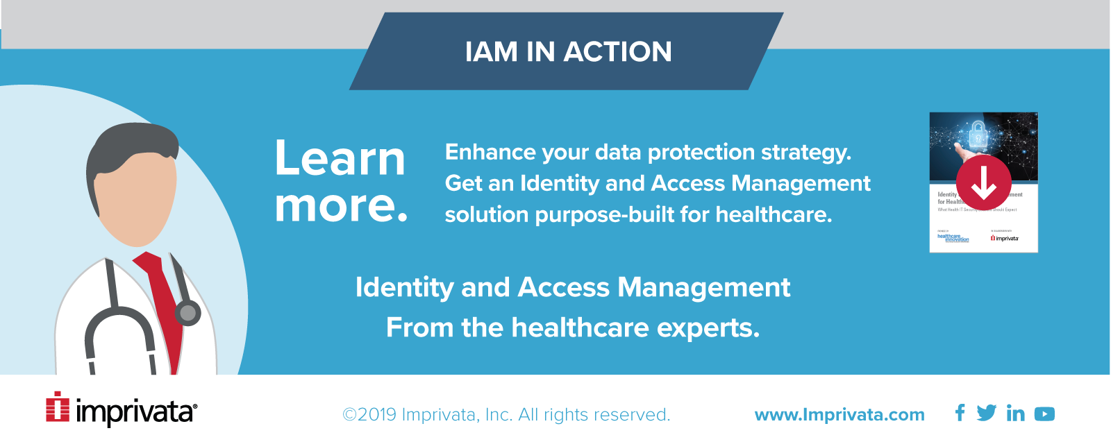 End of automated peace of mind infographic with a call to download a report on IAM