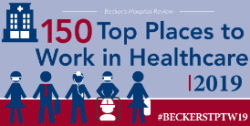 Logo for 150 Top Places to Work in Healthcare