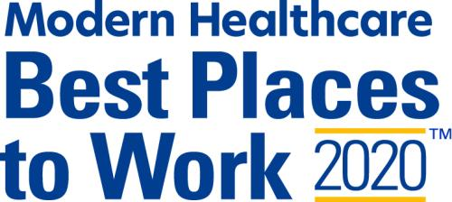 Modern Healthcare: Best Places to Work in Healthcare 2020